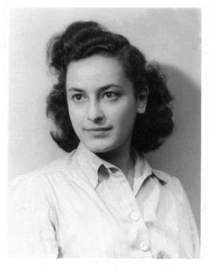 Photo Credit: Hélène Berr's official portrait, 1942 © Mémorial de la Shoah – Coll. Mariette Job
