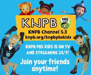 KNPB Channel 5.3 knpb.org/knpbpbskids - KNPB PBS Kids is on TV and streaming 24/7! Join your friends anytime!