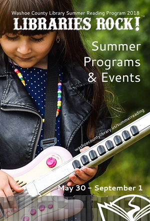 Download the Summer Programs & Events guide. Libraries Rock! May 30-September 1.