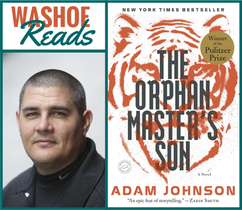 Washoe Reads - The Orphan Master's Son by Adam Johnson